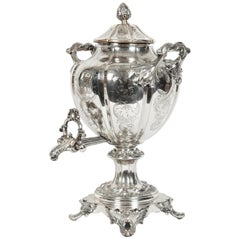 Old Sheffield Silver Plate or Copper Samovar