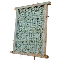 Old Shuttered Window from Morocco, 20th Century