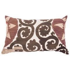 Old Suzani Pillow Case Made from a Samarkand Suzani from Uzbekistan, 1930s