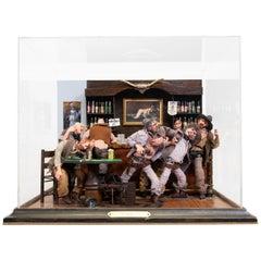 Old West Cowboy Saloon Room Box