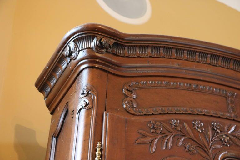 Old World Mahogany Louis XV Secretary For Sale 11
