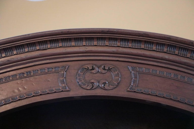 Old World Mahogany Louis XV Secretary In Good Condition For Sale In Westport, CT