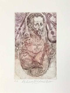Ex Libris - Orlando di Lasso
