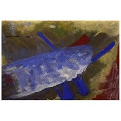 Ole Bjørn Krüger '1922-2007', Oil on Board, Composition, 1960s/70s