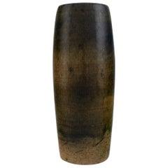 Ole Bjørn Krüger (1922-2007). Unique vase in glazed stoneware. 1960s/70's