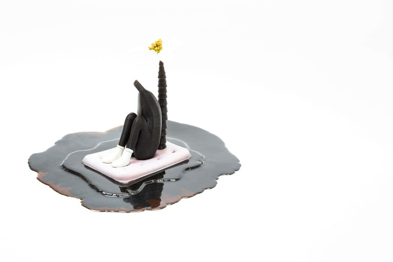 «Nothing but deep water over the horizon» Figurative Sculpture by O. F. Hvidsten For Sale 4
