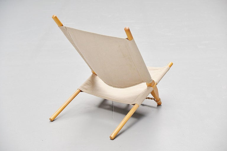 Danish Ole Gjerløv-Knudsen Saw Lounge Chair Cado, Denmark, 1958 For Sale