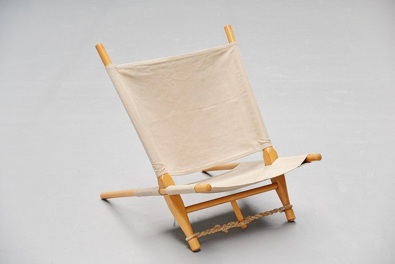 Ole Gjerløv-Knudsen Saw Lounge Chair Cado, Denmark, 1958 In Good Condition For Sale In Etten-Leur, NL