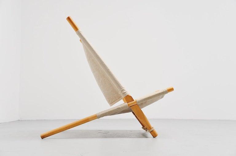 Mid-20th Century Ole Gjerløv-Knudsen Saw Lounge Chair Cado, Denmark, 1958 For Sale