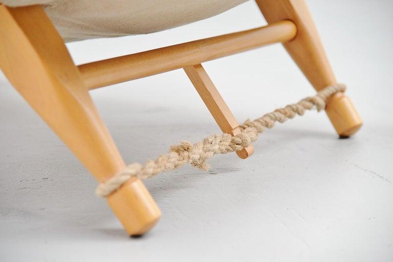 Ole Gjerløv-Knudsen Saw Lounge Chair Cado, Denmark, 1958 For Sale 1