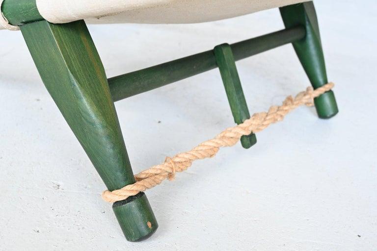 Ole Gjerlov Knudsen Saw Pair of Lounge Chairs Cado, Denmark, 1958 For Sale 5