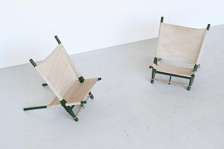 Ole Gjerlov Knudsen Saw Pair of Lounge Chairs Cado, Denmark, 1958 For Sale 6