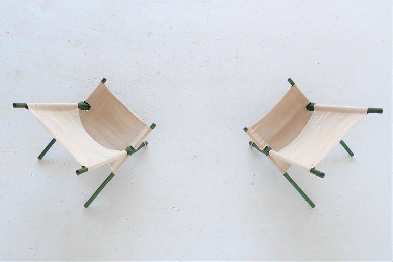 Ole Gjerlov Knudsen Saw Pair of Lounge Chairs Cado, Denmark, 1958 For Sale 7