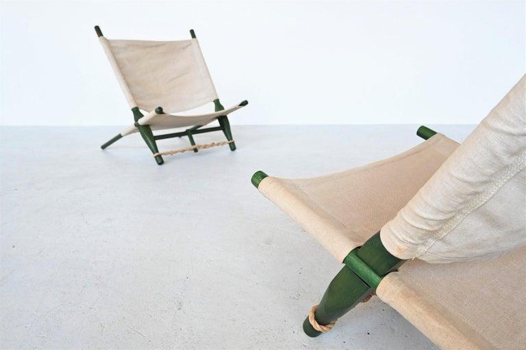 Ole Gjerlov Knudsen Saw Pair of Lounge Chairs Cado, Denmark, 1958 In Good Condition For Sale In Etten-Leur, NL
