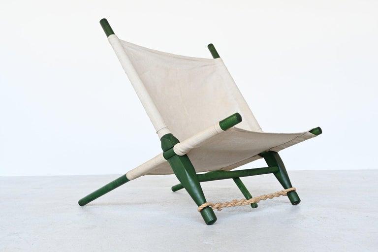 Mid-20th Century Ole Gjerlov Knudsen Saw Pair of Lounge Chairs Cado, Denmark, 1958 For Sale