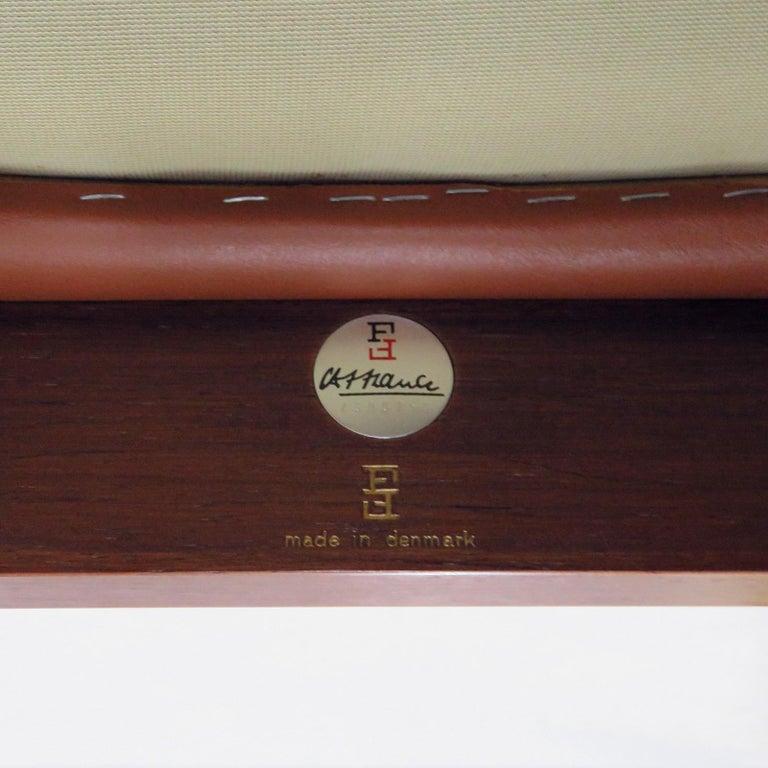 Ole Gjerlov-Knudsen & Torben Lind 'Moduline' Leather Seating Set, 1962 For Sale 4