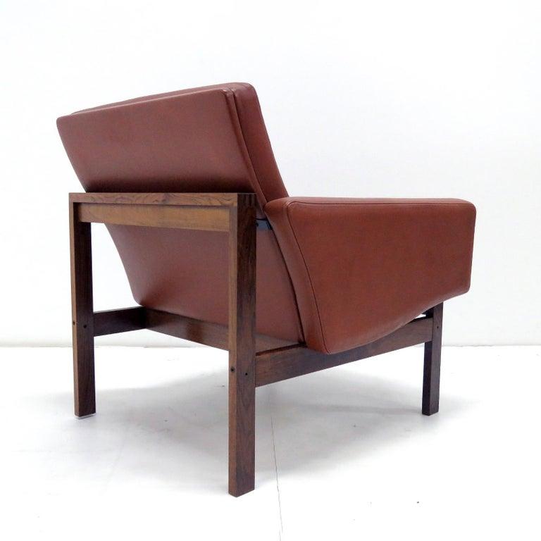 Ole Gjerlov-Knudsen & Torben Lind 'Moduline' Leather Seating Set, 1962 For Sale 1