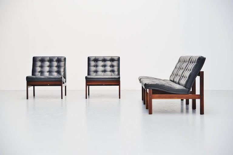 Ole Gjerlov Knudsen Torben Lind Moduline Sofa, Denmark, 1962 For Sale 2