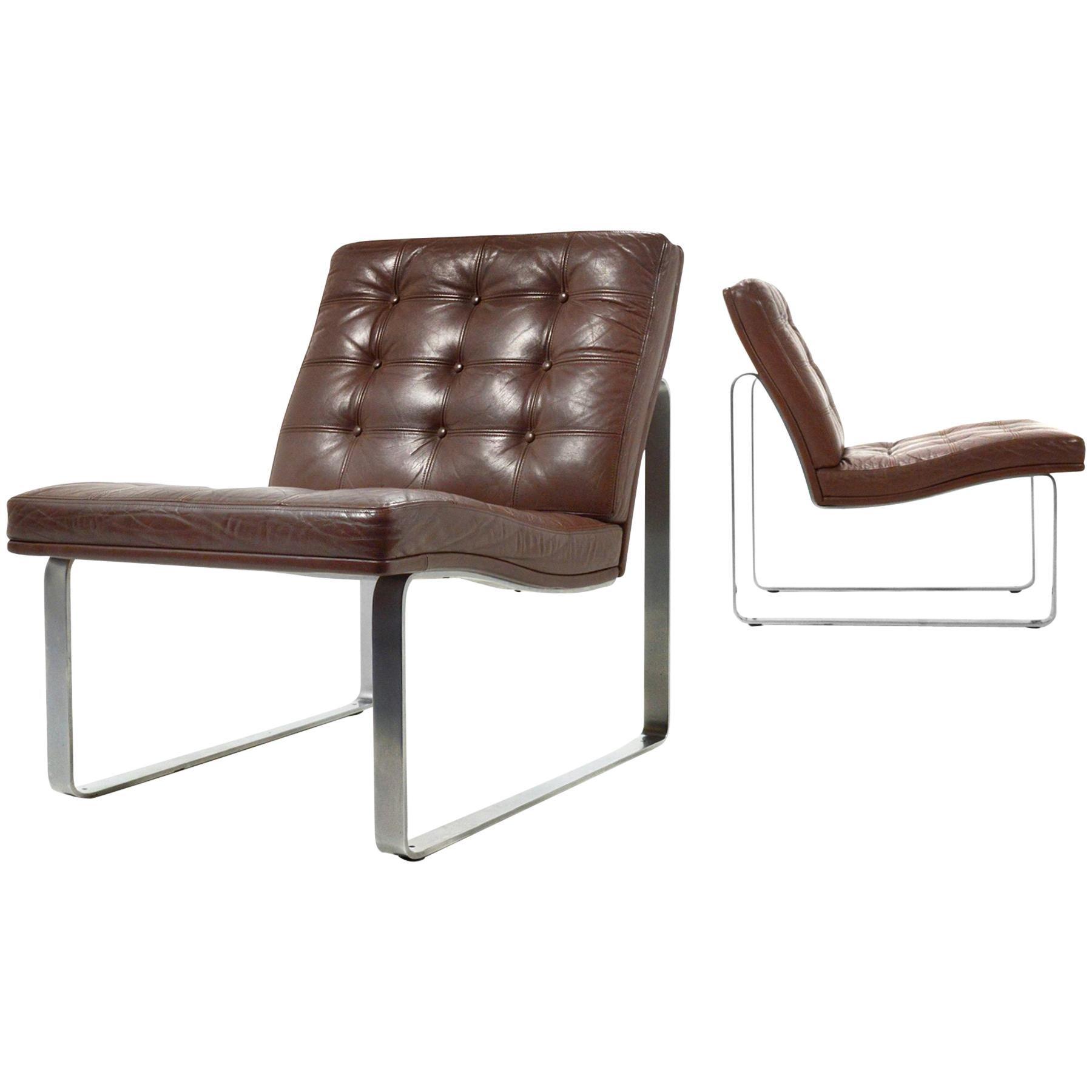Ole Gjerløv-Knudsen Moduline Lounge Chairs by France & Son
