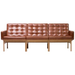 Ole Gjerløv-Knudsen & Torben Lind Leather Sofa