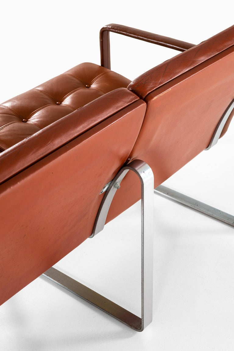 Steel Ole Gjerløv-Knudsen & Torben Lind Sofa Model Moduline by France & Søn in Denmark For Sale