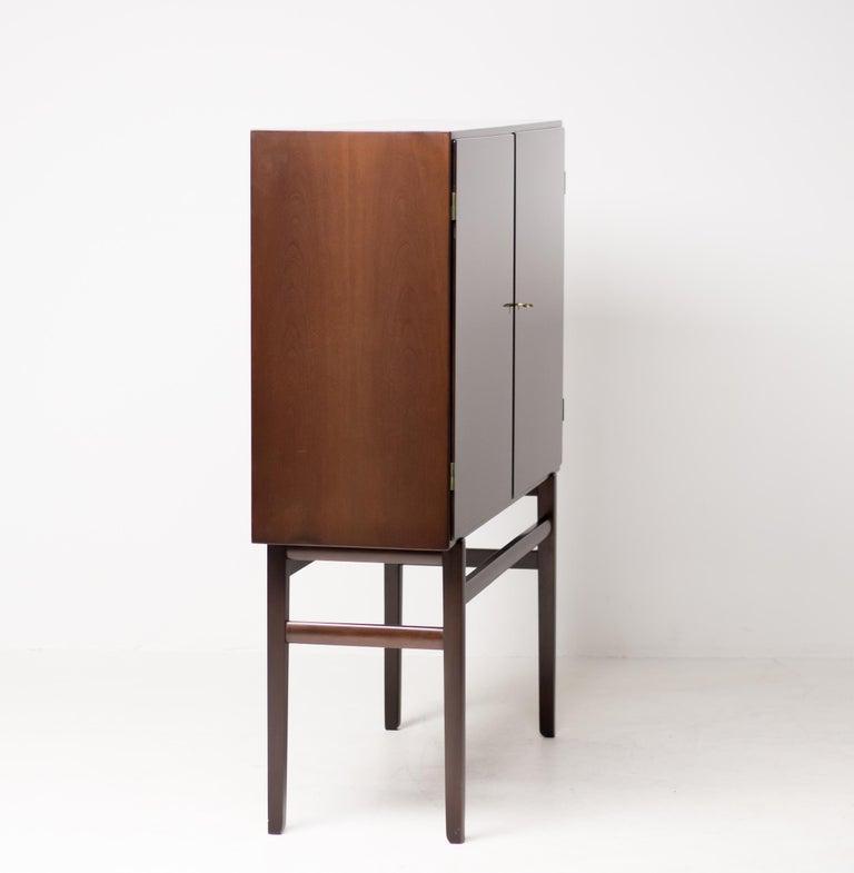 Ole Wanscher 1950s Danish Mahogany Bar Cabinet 5
