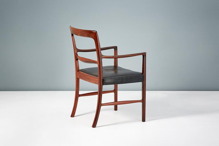Ole Wanscher 1954 Rosewood Armchair  For Sale 1
