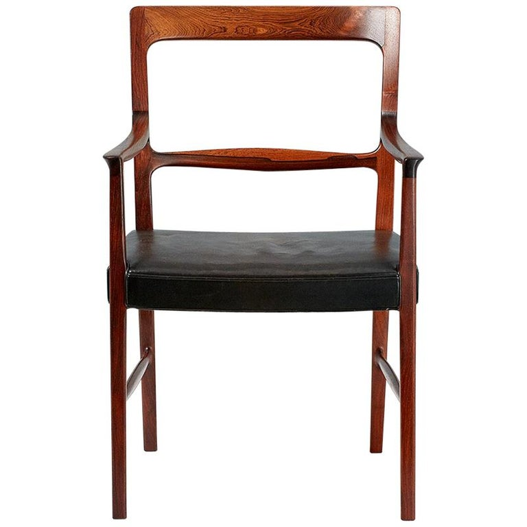 Ole Wanscher 1954 Rosewood Armchair  For Sale