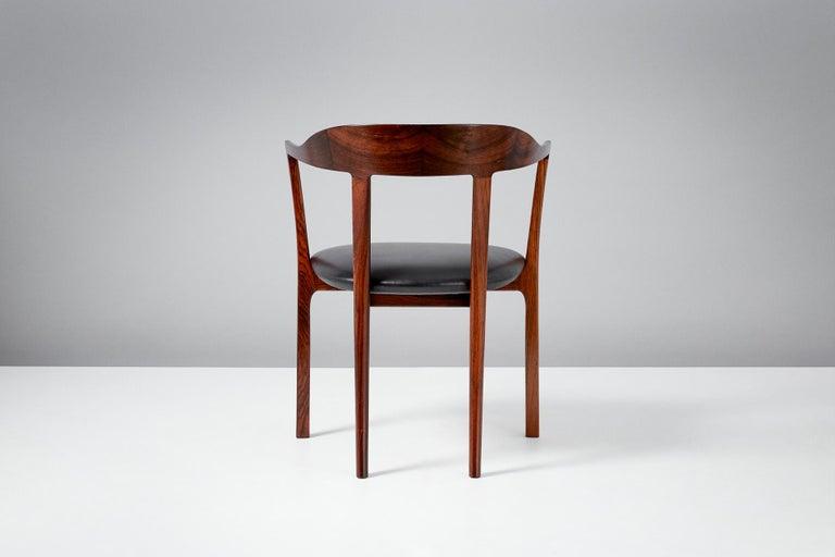 Scandinavian Modern Ole Wanscher 1958 Armchair For Sale