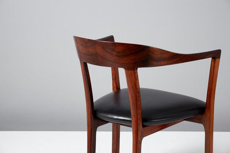 Danish Ole Wanscher 1958 Armchair For Sale