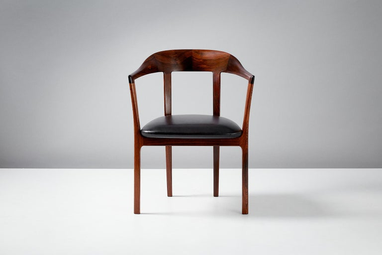 Ole Wanscher 1958 Armchair In Good Condition For Sale In London, GB