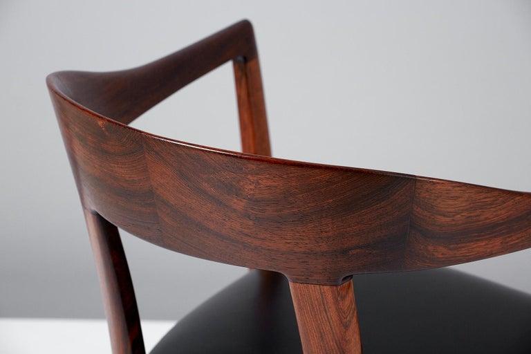 Mid-20th Century Ole Wanscher 1958 Armchair For Sale