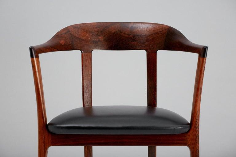 Leather Ole Wanscher 1958 Armchair For Sale