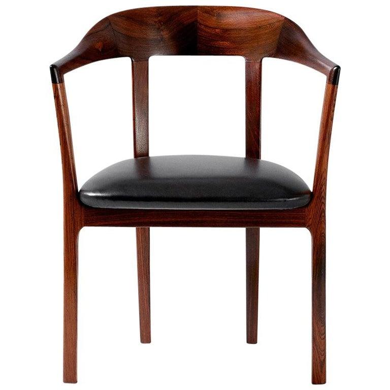 Ole Wanscher 1958 Armchair For Sale