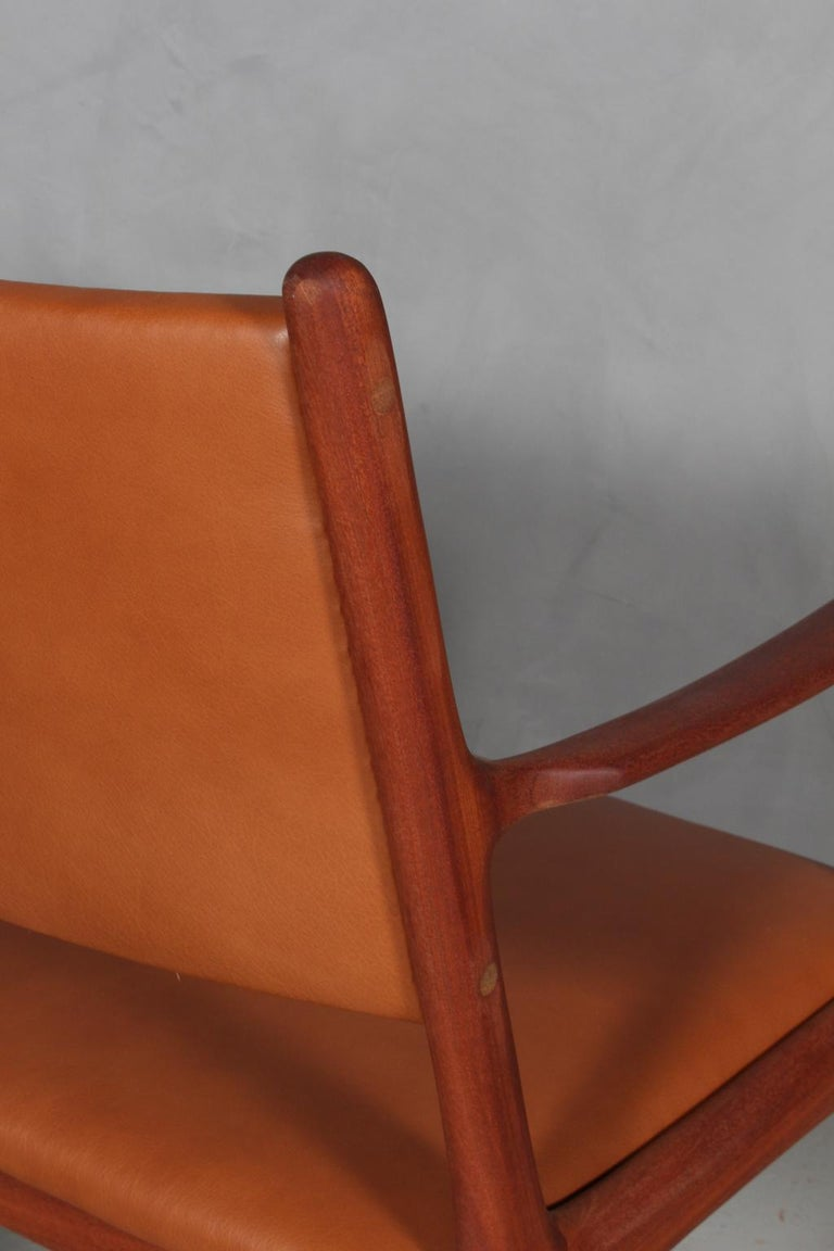 Mid-20th Century Ole Wanscher Armchair For Sale