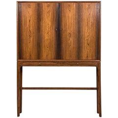 Ole Wanscher Cabinet in Rosewood by Cabinetmaker A.J Iversen in Denmark