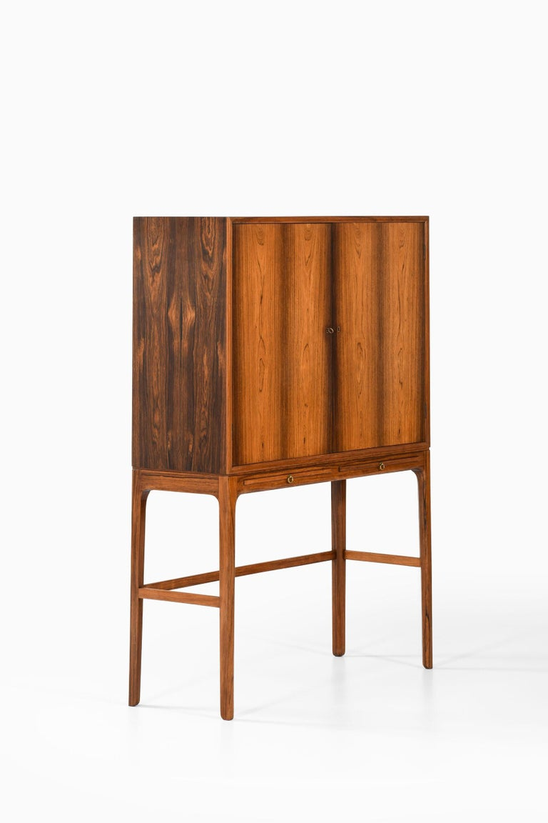 Ole Wanscher Cabinet Produced by Cabinetmaker a.J Iversen in Denmark For Sale 3