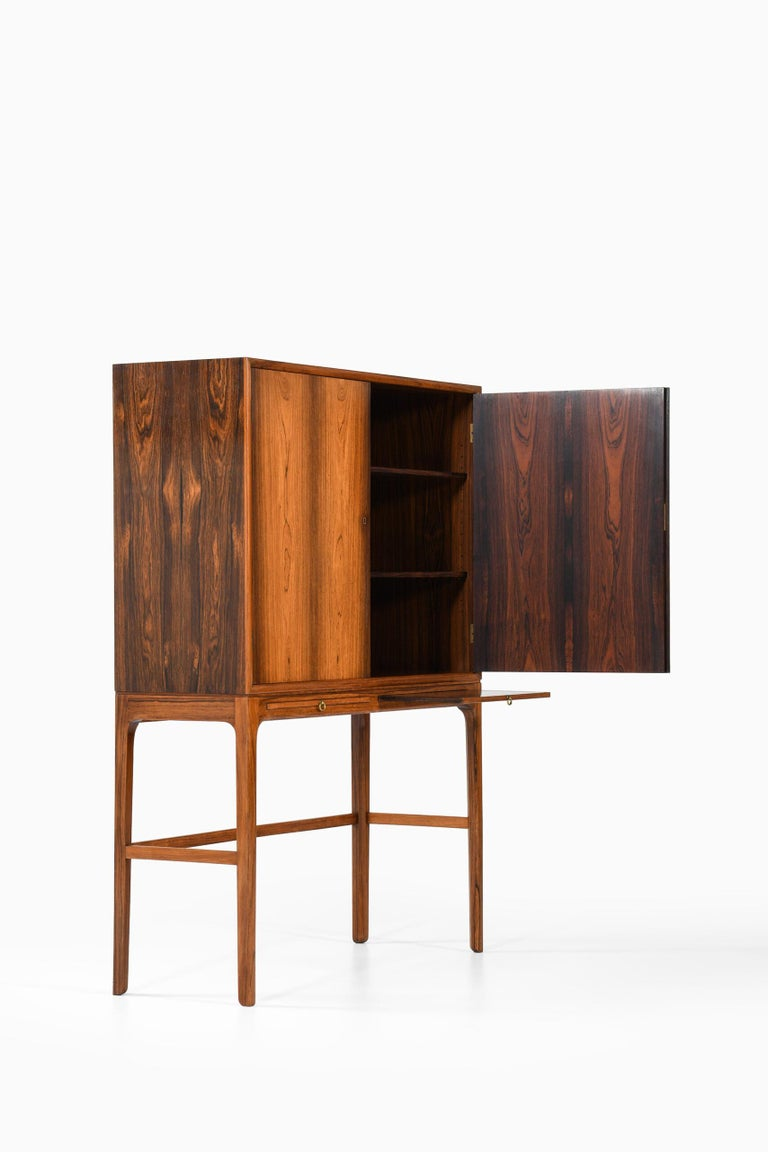 Ole Wanscher Cabinet Produced by Cabinetmaker a.J Iversen in Denmark For Sale 4