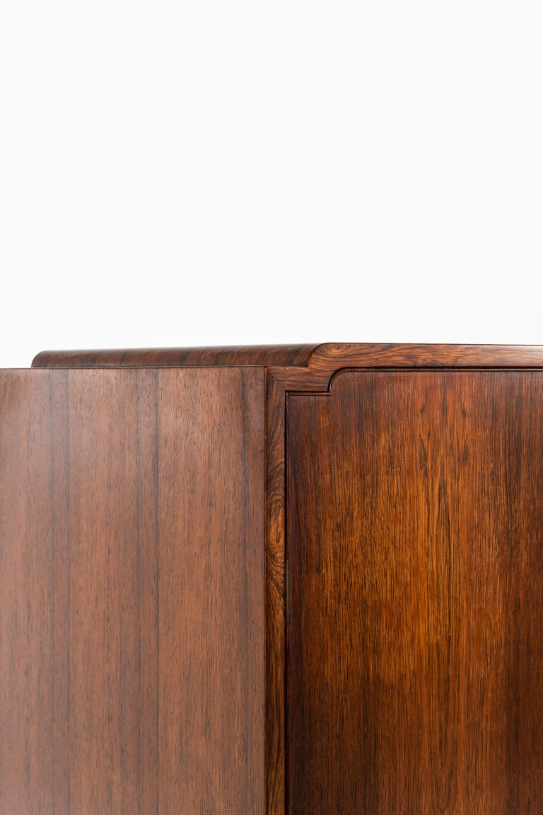 Ole Wanscher Cabinet Produced by Cabinetmaker A.J. Iversen in Denmark For Sale 5