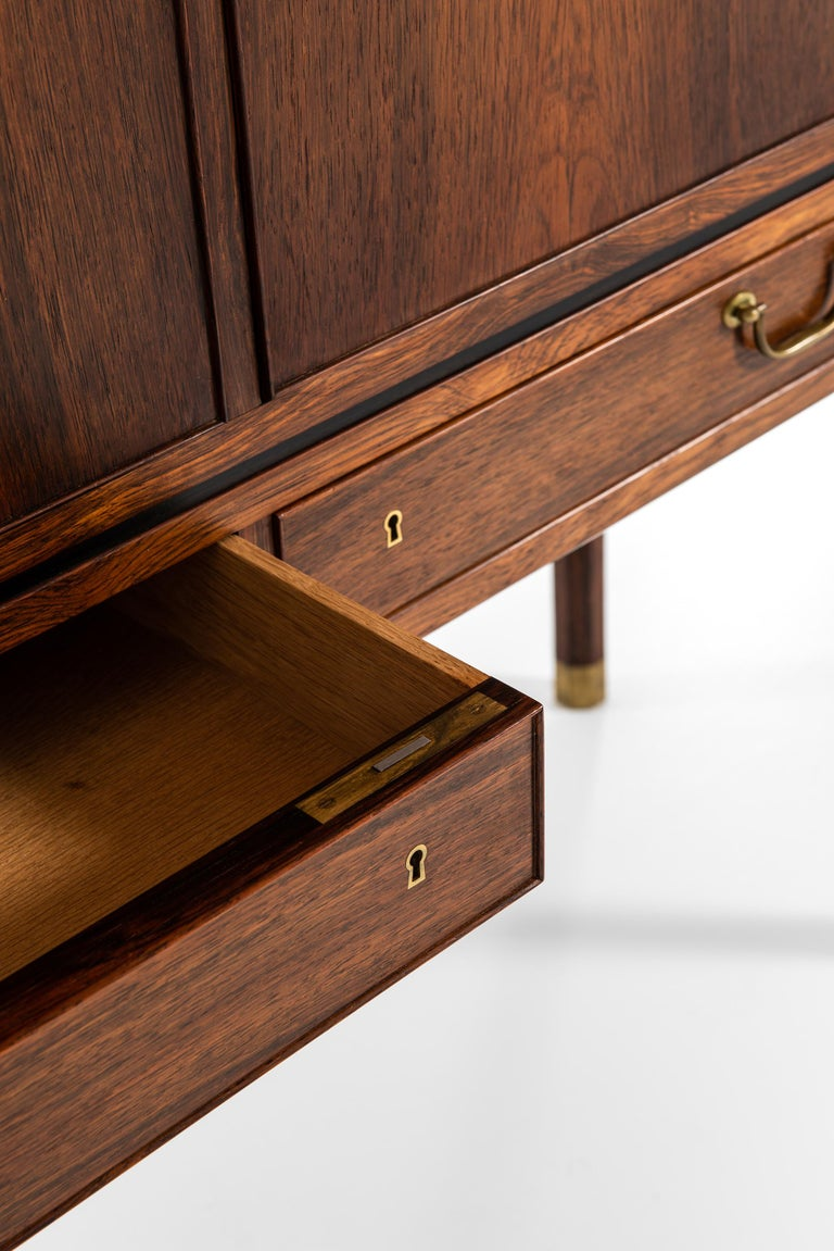 Ole Wanscher Cabinet Produced by Cabinetmaker A.J. Iversen in Denmark For Sale 6