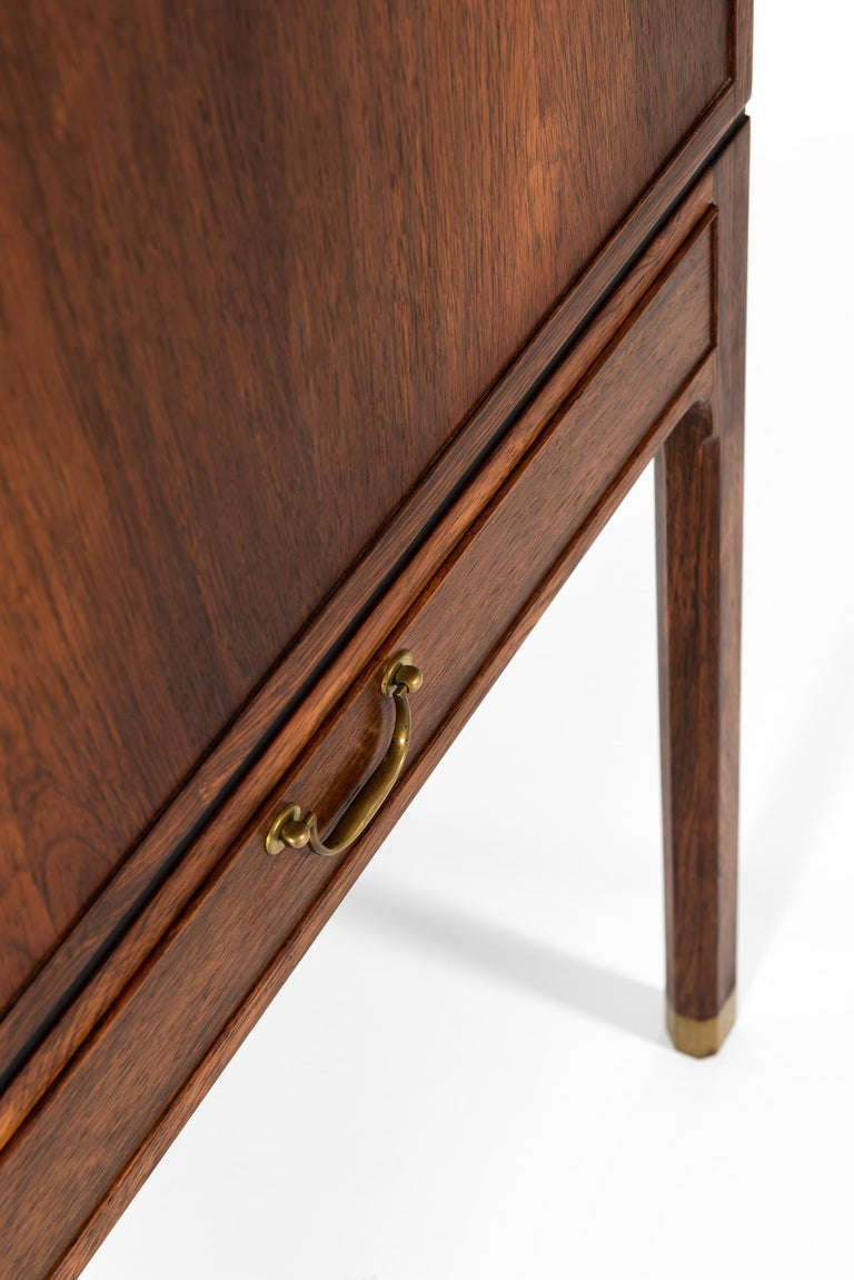 Ole Wanscher Cabinet Produced by Cabinetmaker A.J. Iversen in Denmark For Sale 7