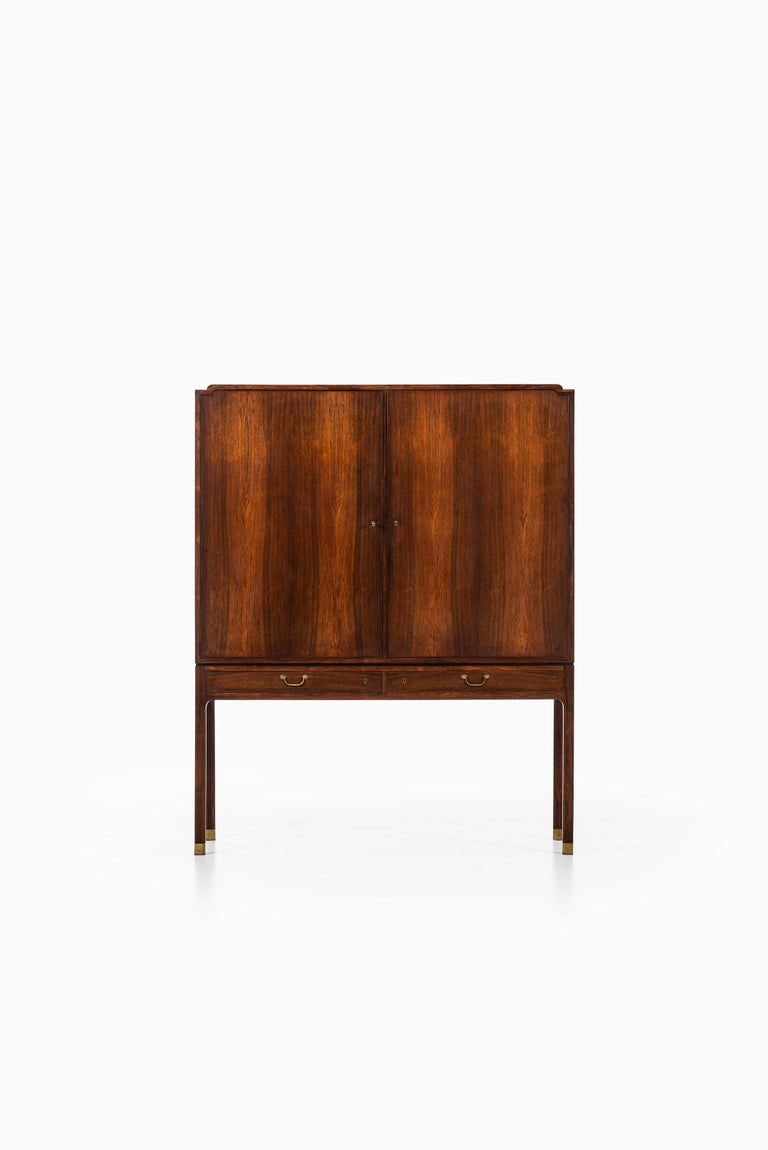 Danish Ole Wanscher Cabinet Produced by Cabinetmaker A.J. Iversen in Denmark For Sale