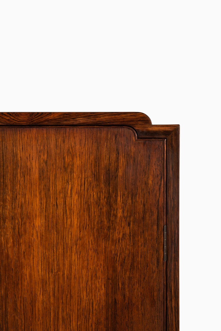 Ole Wanscher Cabinet Produced by Cabinetmaker A.J. Iversen in Denmark In Good Condition For Sale In Malmo, SE