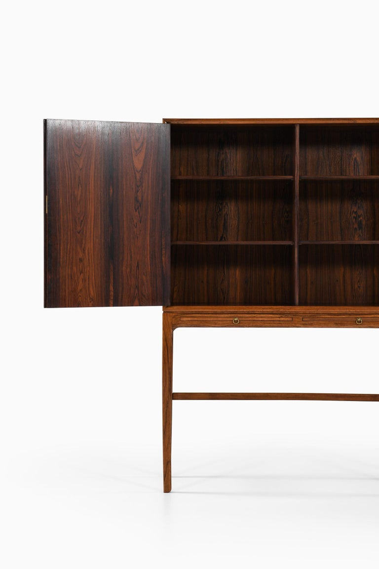 Ole Wanscher Cabinet Produced by Cabinetmaker a.J Iversen in Denmark In Good Condition For Sale In Malmo, SE