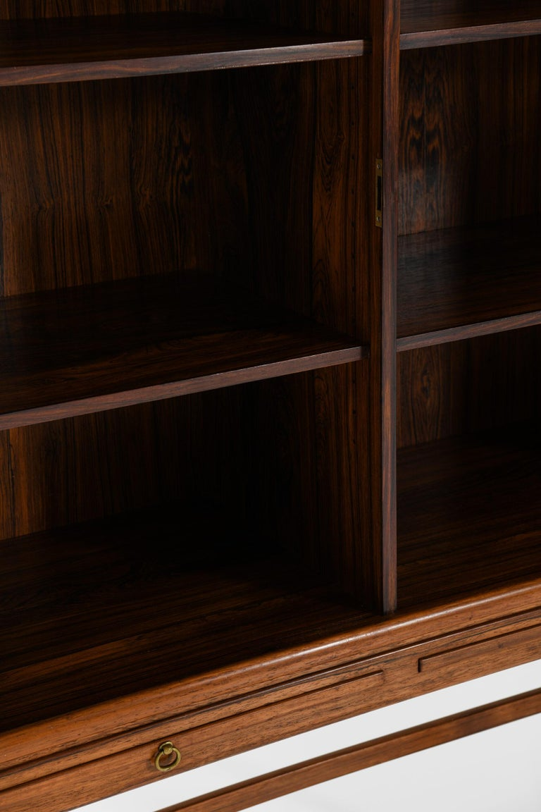 Mid-20th Century Ole Wanscher Cabinet Produced by Cabinetmaker a.J Iversen in Denmark For Sale