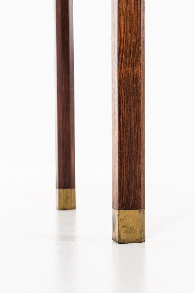 Brass Ole Wanscher Cabinet Produced by Cabinetmaker A.J. Iversen in Denmark For Sale