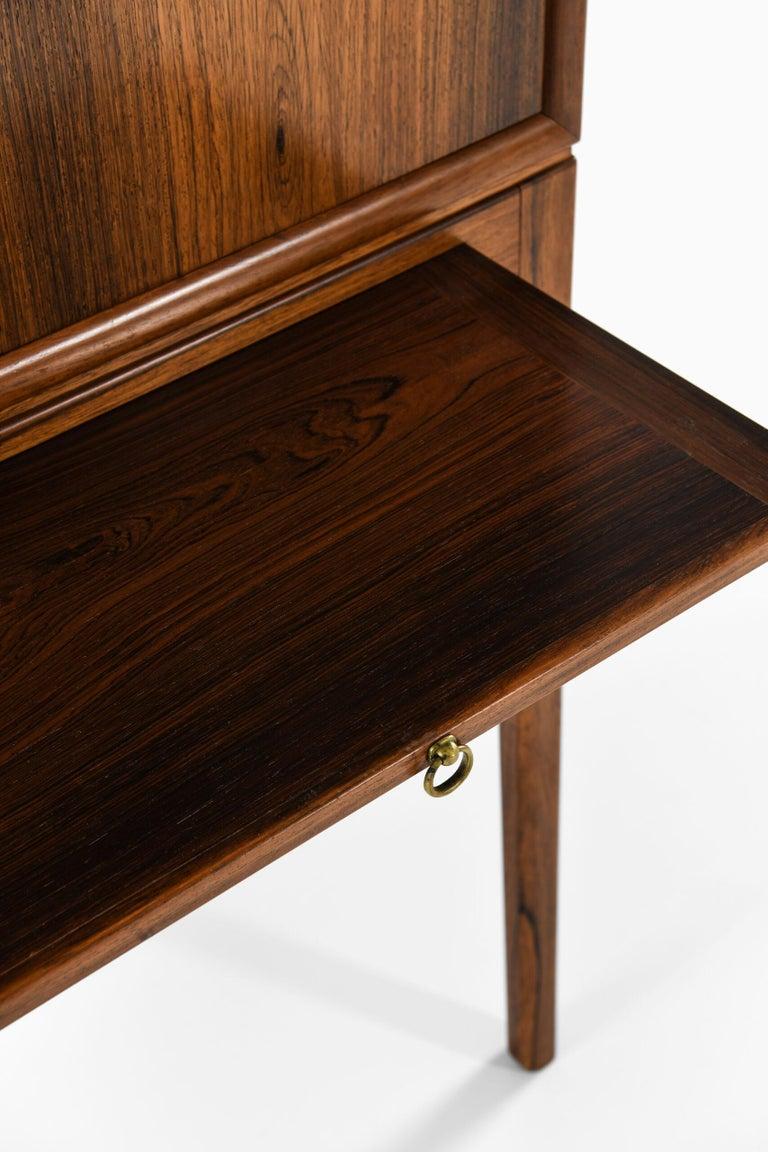 Brass Ole Wanscher Cabinet Produced by Cabinetmaker a.J Iversen in Denmark For Sale