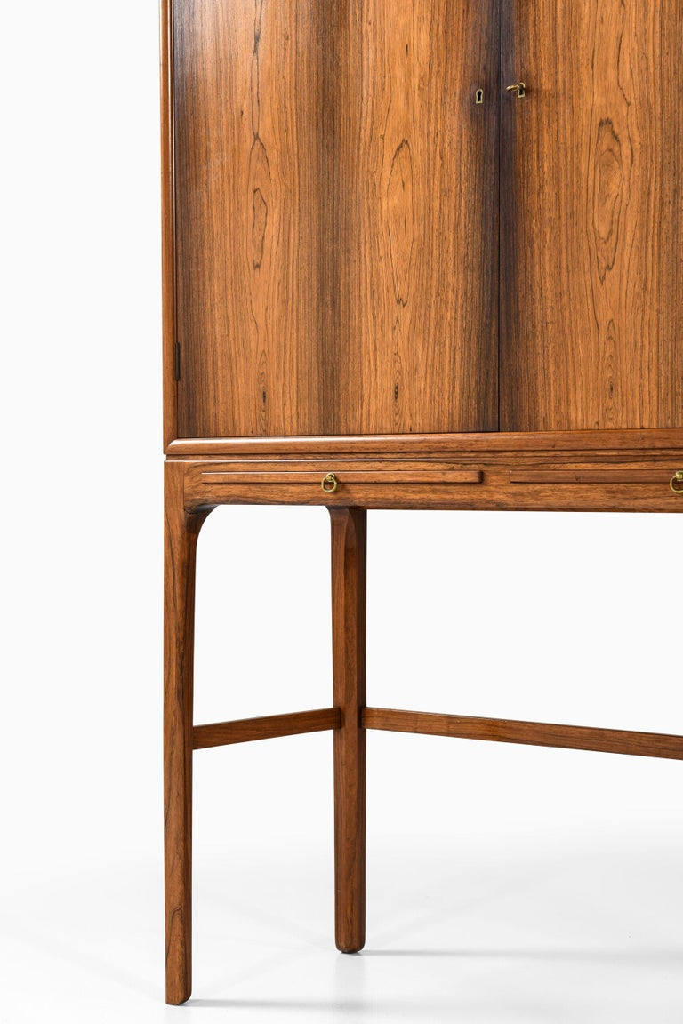 Ole Wanscher Cabinet Produced by Cabinetmaker a.J Iversen in Denmark For Sale 1