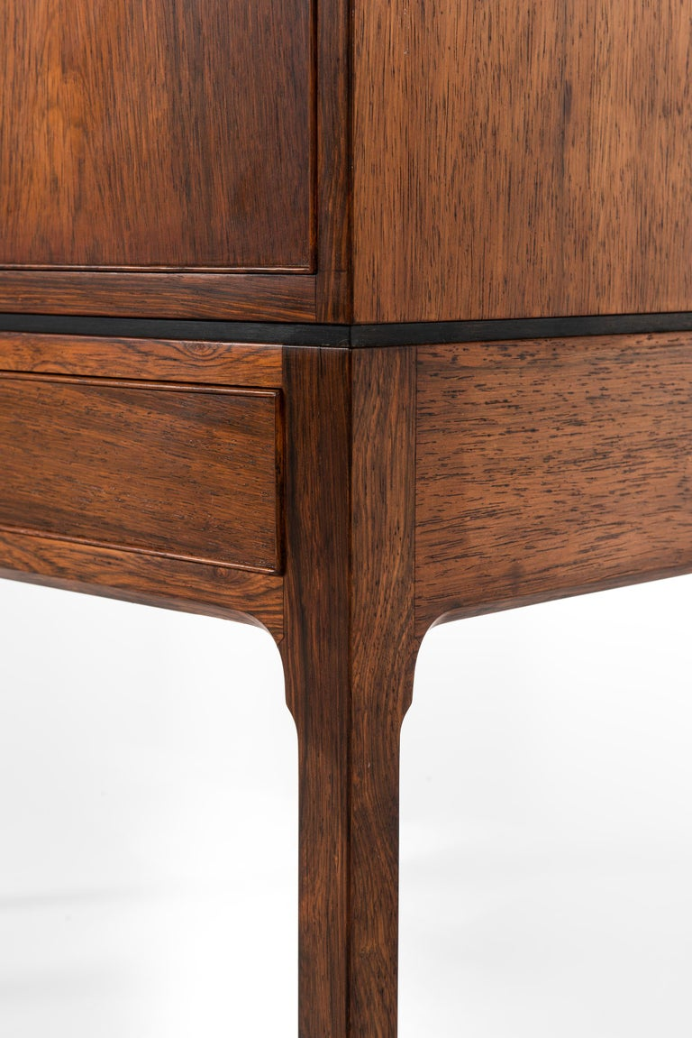Ole Wanscher Cabinet Produced by Cabinetmaker A.J. Iversen in Denmark For Sale 2