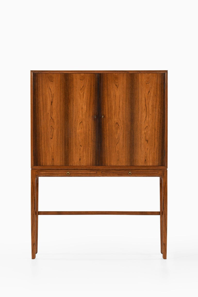 Ole Wanscher Cabinet Produced by Cabinetmaker a.J Iversen in Denmark For Sale 2